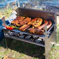 Grillen & Kochen mit Holz/ Kohle